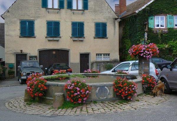 La Fontaine Place du 19 Décembre 1944