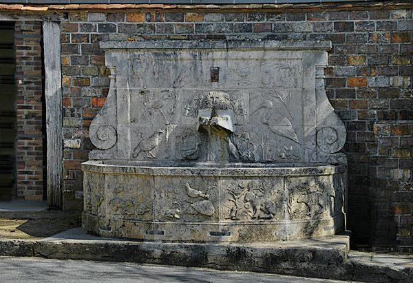 La Fontaine du Village de La Borne