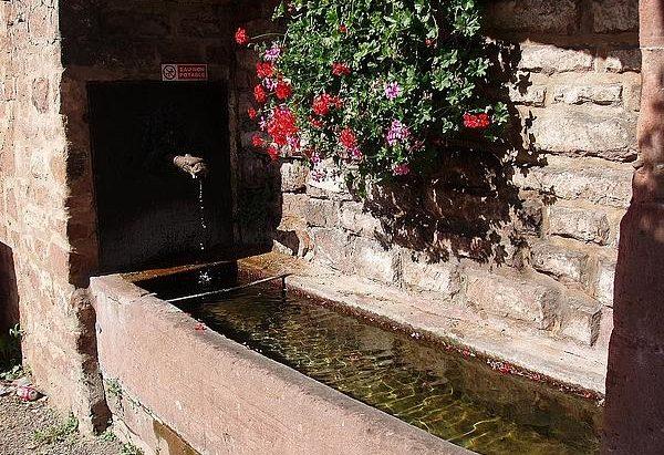 La Fontaine rue de Zinswiller