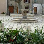 La Fontaine Place du Chanoine Sautel