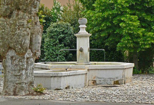La Fontaine de la Ferme du Chatelard