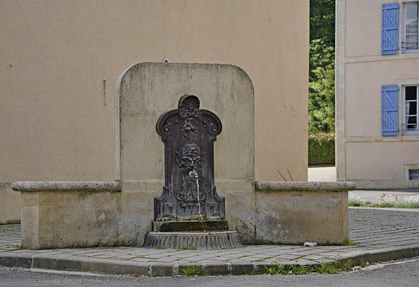 La Fontaine du Centre d'Accueil de Benoîte-Vaux