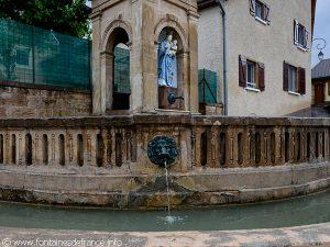 La Fontaine de la Vierge aux Raisins