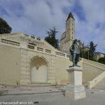 La Fontaine de l'Escalier palier Inférieur