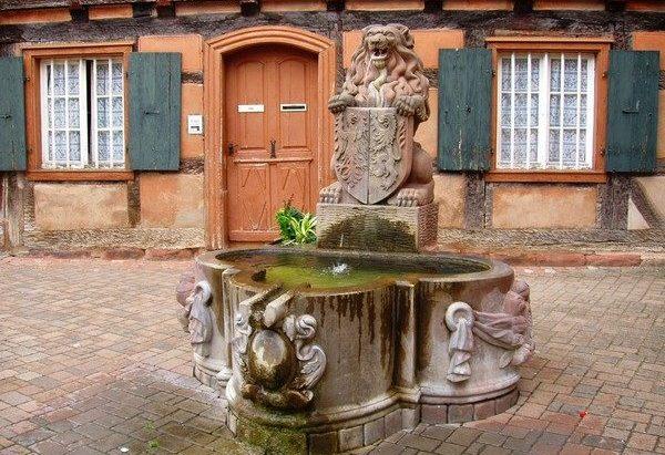 La Fontaine au Lion
