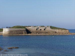 Le Fort vu depuis la Fontaine St-Gildas