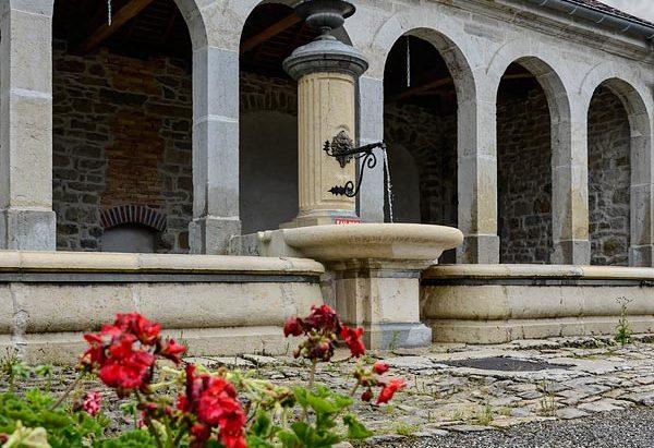 La Fontaine Lavoir l'Argillier