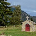 La Fontaine et Chapelle St-Aubin à Manson