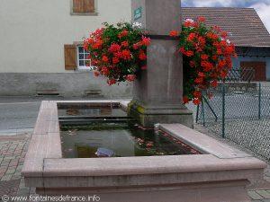 La Fontaine rue de Molsheim