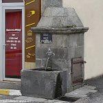 La Fontaine rue Alphonse Chabrat
