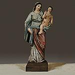 Statue polychrome de Notre-Dame de Beauval