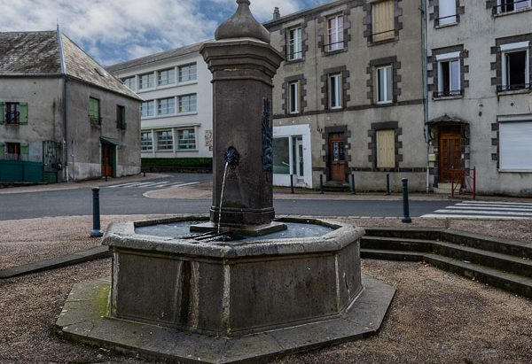 La Fontaine rue Victor Mazuel
