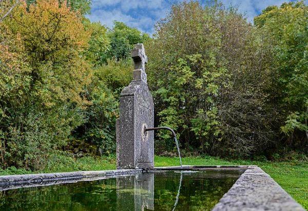 La Fontaine de 1911 à Mazayes-Hautes