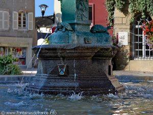 La Fontaine Place du Mal Foch