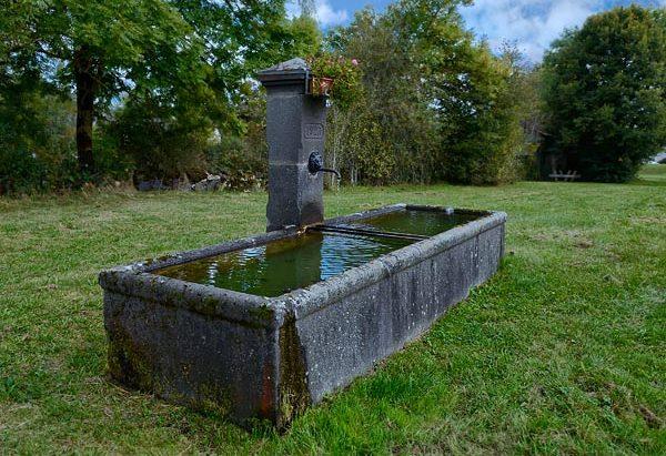 La Fontaine de 1923 du Petit Chambois