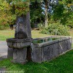 La Fontaine route de Bannières