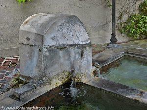 La Fontaine Lavoir rue de la Foulerie