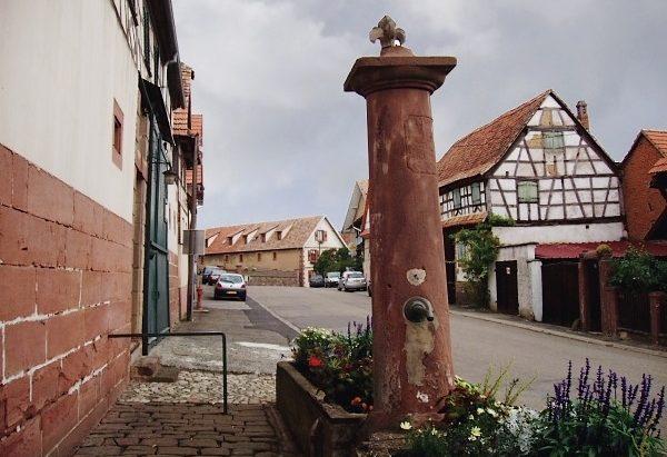 La Fontaine Rohrbrunnen