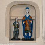 Statue de St-Gengoult ou Gendulphe avec son épouse
