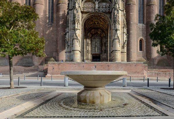 La Fontaine Parvis de la Cathédrale