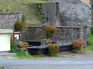 La Fontaine rue du 27 Septembre 1944