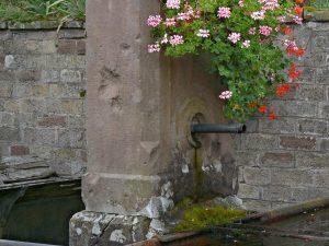 La Fontaine rue du Château