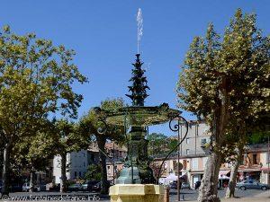 La Fontaine Place du Jourdain