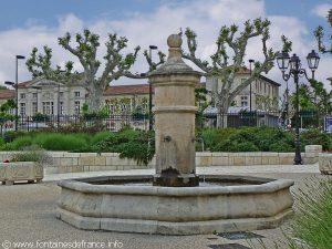 La Fontaine Esplanade de Verdi