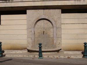 La Fontaine rue du Marché