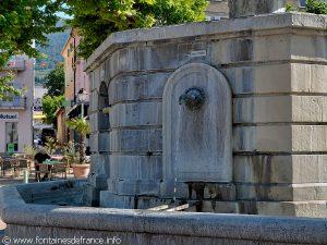 La Fontaine Place du Champ de Mars
