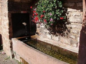 la Fontaine rue Zinswiller