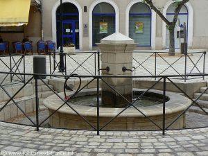 La Fontaine Place Clémenceau