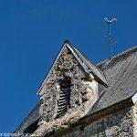 Détail du Clocher de l' église de Fay