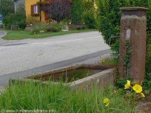 La Fontaine du Bas du Village