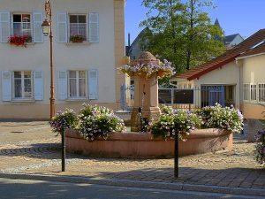La Fontaine Place des Mineurs
