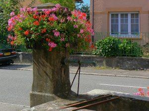 La Fontaine rue de la 1ère DFL