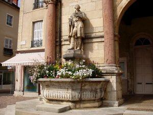 La Fontaine François Devosge