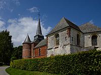 Vue d'ensemble de l'église