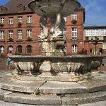 La Fontaine au Cygne et aux Dauphins