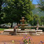 La Fontaine des Jardins de l'Europe
