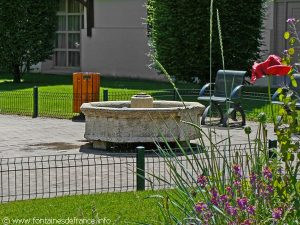 La Fontaine du Jardin de l'Evêché