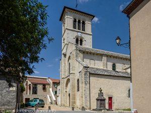 L'Eglise St-Martin et la Croix
