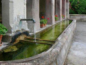La Fontaine rue du Faubourg