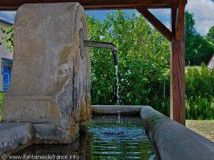 La Fontaine du Lavoir de Benoîte-Vaux