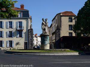 La Fontaine Desaix place J.B.Laurent