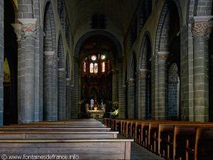 La nef et le choeur de la Basilique