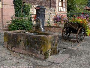 La Fontaine dite Weschbrunnen