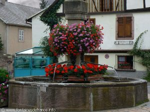 La Fontaine Route du Vin