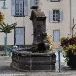 La Fontaine Place J.Claussat