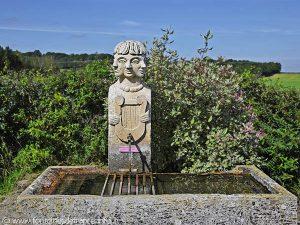 La Fontaine du Hameau de Brécy